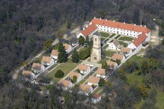 Majk - monastery aerial photo