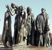 Citizens of Calais by RodinAuguste