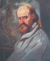 elder Markó Károly: Self-portrait