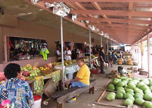 Talamahu Market on Nukuʻalofa