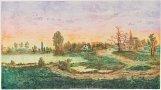 Landscape of Sárpspatak by Arnold Gross