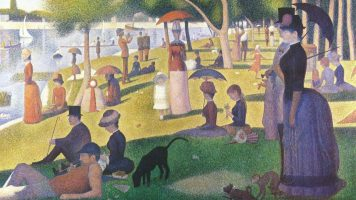 Georges Seurat: Sunday afternoon on the island of Grande Jatte