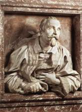 An epitaph of Gabriele Fonseca by Bernini