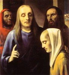 Han van Meegeren: Christ and the Adulterous Woman