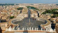 St. Peter's Square by Bernini