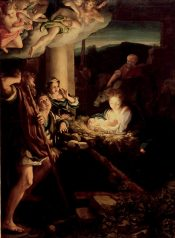 Correggio: Nativity pictures in the Dresden gallery