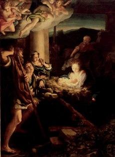 Correggio: Nativity pictures in the Dresden gallery