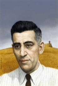 J.D. Salinger illustration 1961, TIME