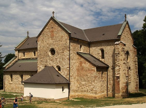 The monastery church of the Cistercian abbey of Bélapátfalva was consecrated in 1232