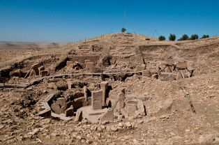 The remains of several Stone Age churches have been excavated in the area of Göbekli Tepe
