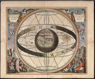 Cellarius Ptolemaic system