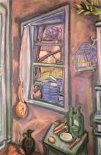 István Dési Huber: Open window
