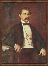 Portrait of Miklós Barabás János Arany