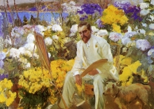 Joaquin Sorolla's painting of Tiffany