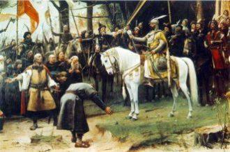 Mihály Munkácsy: Conquest (detail)