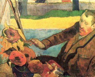 Paul Gauguin's portrait of Vincent (1888)