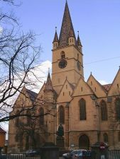 Lutheran Episcopal Cathedral in Sibiu