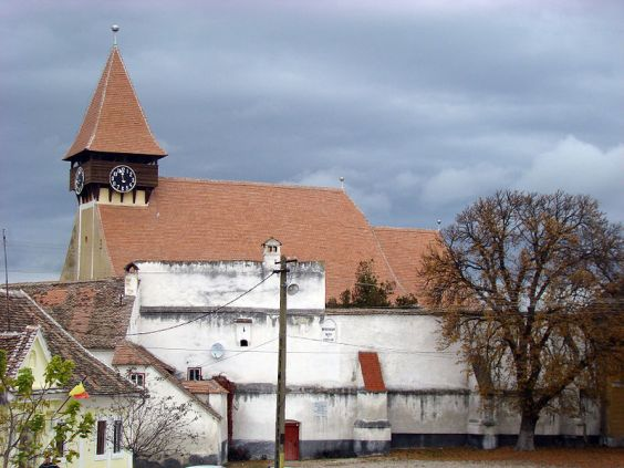 Lutheran fortress church in Szerdahely (Romania)