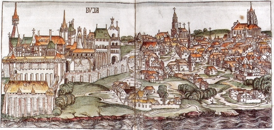 Buda in the Middle Ages