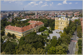 View of Oradea from above