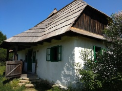 Hungarian house in the open-air museum in Maramures