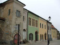 Elizabeth House on the main square of Baia Mare
