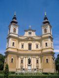 The Roman Catholic Cathedral in Oradea