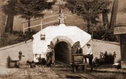 Entrance to the Kereszthegy mine