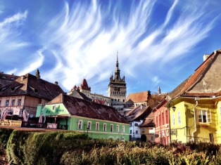 Sighisoara, historical castle district