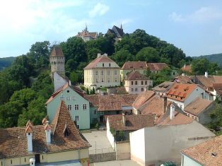 View of Sighisoara