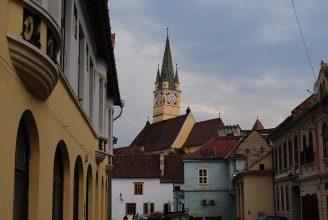 The historic center of Mediaș