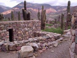 Ruins of the Pucará de Tilcara. Argentina