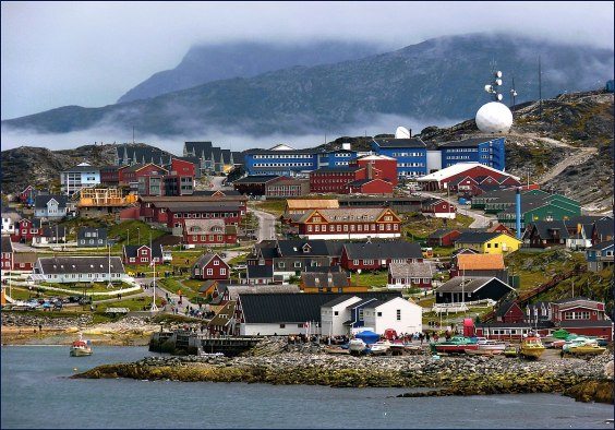 View of Nuuk (Greenland)