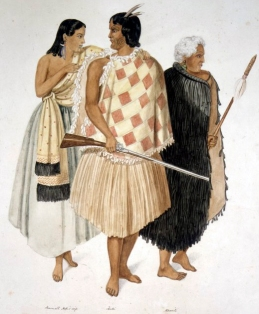 Maori natives from the mid-19th century