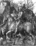 Albrecht Dürer: The Knight, Death and the Devil (1513)