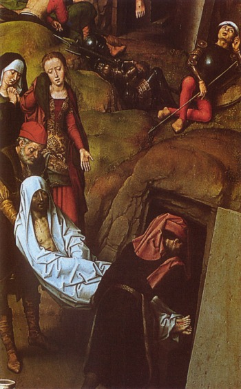 Hans Memling (1433-1449): The Burial of Jesus