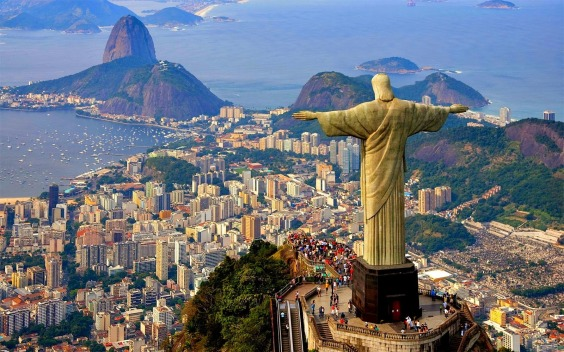 Christ the Redeemer has been spreading his arms in Corcovad since 1931.