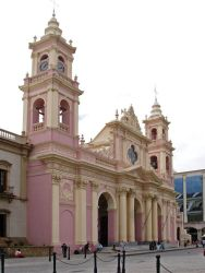 Colonial Baroque churches in northern Argentina
