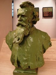 Bust of Vilmos Zsolnay