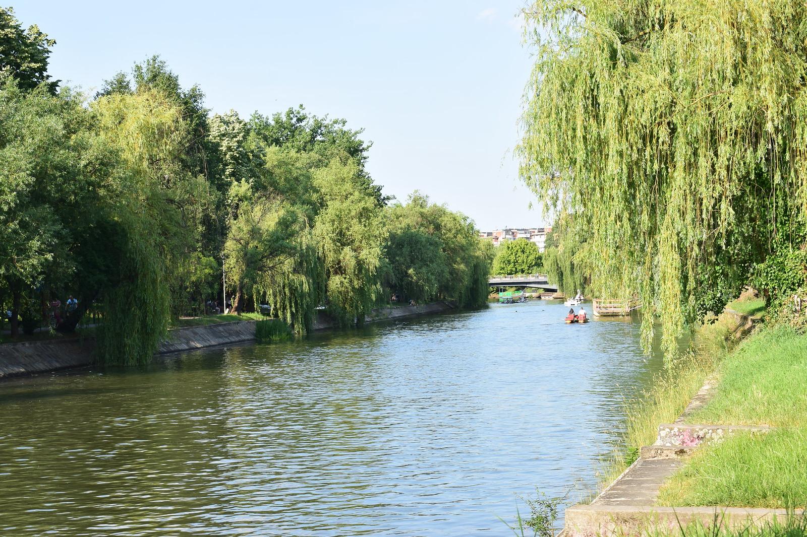 Bega canal near Timisoara