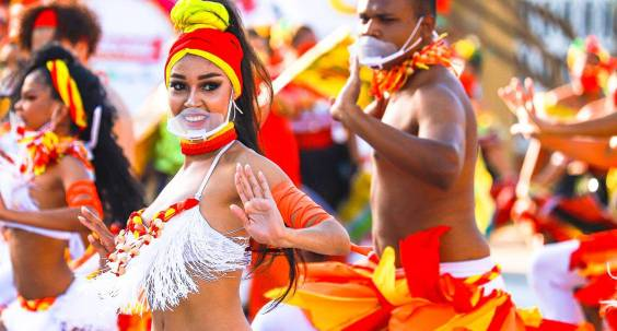 Barranquilla - one of the strongholds of the Caribbean Carnival