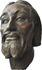 An authentic facial reconstruction based on Béla Skull (work of Gyula Skultéty,