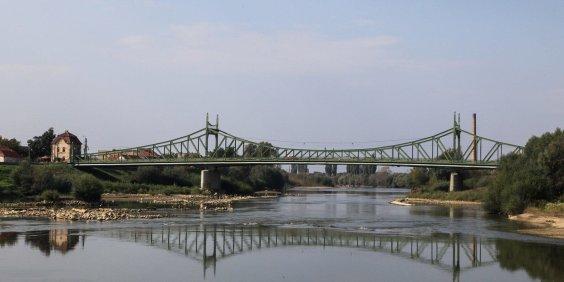 Mureş bridge at Arad