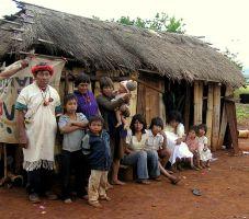 Pai Tavytera indians a Amambay Department , Paraguay, 2012