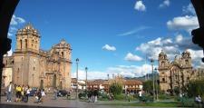 The main square of Cusco
