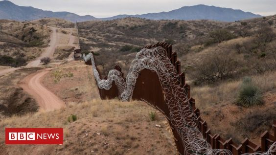 US.Mexico boder wall