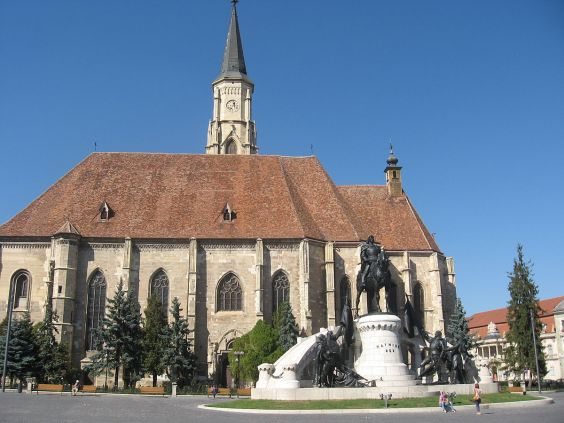 The monument to King Matthias or the statue of Matthias in Cluj-Napoca is the most famous work of János Fadrusz in the main square of Cluj-Napoca