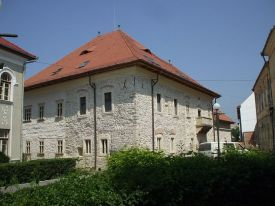 House of the Princes in the garden of the Reformed Church in Turda