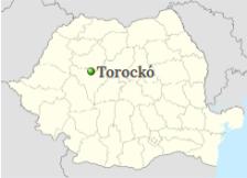 Position of Râmnicu Vâlcea on the map of Romania