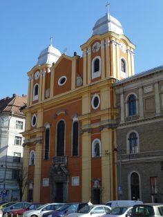 Piarist church in Cluj